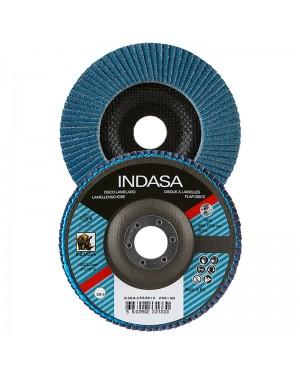Discos flap Indasa Zirconia 115 mm Indasa