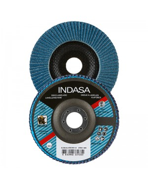 Disques à lamelles Indasa Zircone 115 mm Indasa