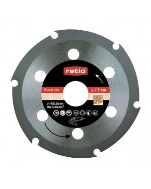 RATIO Wood Cutting Disc 115 x 2,0 x 22,2 Ratio