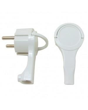 DUOLEC White extra-flat plug DUOLEC.