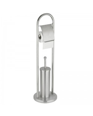 HABITEX Toilet roll holder with brush holder HABITEX Basic