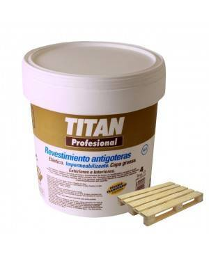 Titan Palé 15 L Caucho Antigoteras A8 Titan