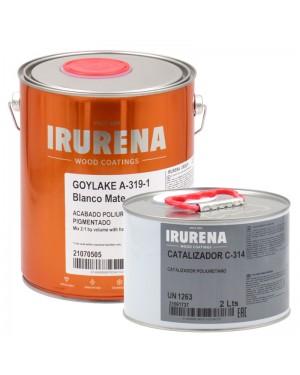 Irurena Group Goylake White Matte Polyurethane Lacquer Irurena