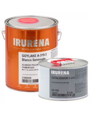 Irurena Group Laca poliuretano Goylake Blanco SemiMate Irurena