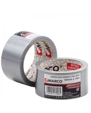 Miarco Miarco Pro ruban adhésif 50mm x 10m Gris
