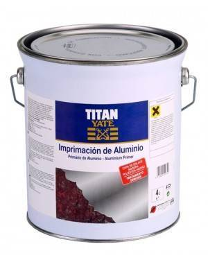 Imprimacion de Aluminio Titan 4 L