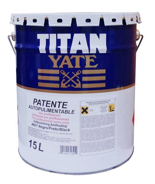 Patent selfpolishing 15 l titan pinturas dami for Pinturas titan catalogo