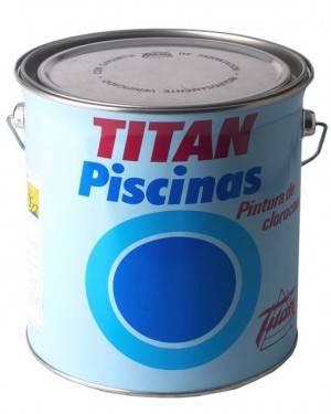 Piscines Titan caoutchouc chloré 4 L