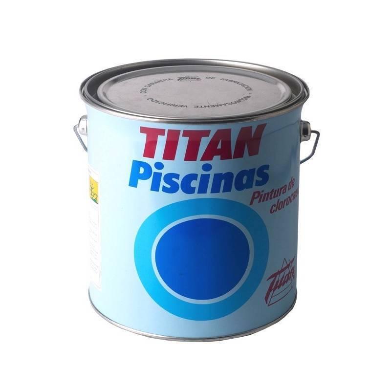 Piscines titan caoutchouc chlor 4 l pinturas dami for Peinture piscine caoutchouc