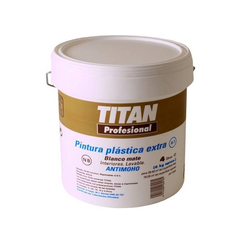 Special titan plastic smooth mate a1 pinturas dami for Pinturas titan catalogo