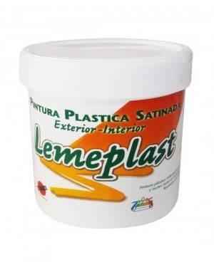 Kunststoff-Farbe Satin Titan Lemeplast