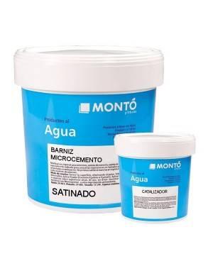 Barniz MicroCemento al Agua Monto