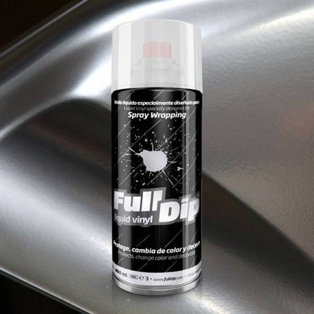 FULL DIP Spray Full Dip Cromado Vinilo Líquido 400 mL