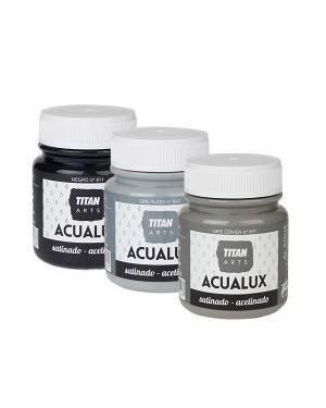 Farbe Grau / Schwarz Titan Acualux
