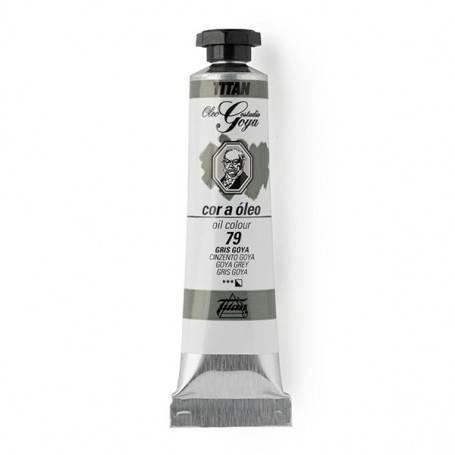 Titan Arts Colores Grises-Negros Óleo Goya Titan