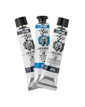 Couleurs bleu pétrole Titan Goya