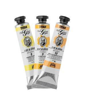 Cores óleo Titan Goya amarelos