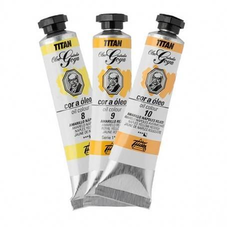 Titan Arts Colores al Óleo Goya Titan Amarillos