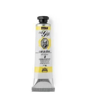 Titan Colores al Óleo Goya Titan Amarillos