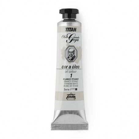 Titan Arts Colores Blancos Óleo Goya Titan
