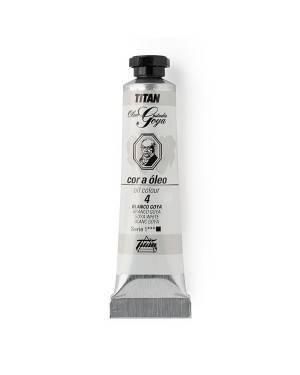White colors Oil Titan Goya