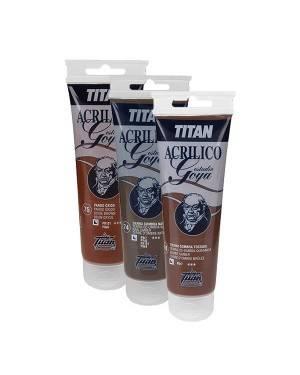 Couleurs Pardos Acryliques Titan étude Goya