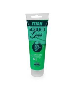 Green colors Titan Goya Acrylics Study