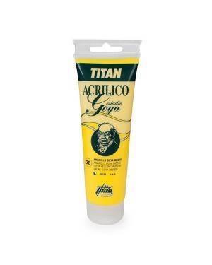 Couleurs jaune Titan Goya Acryliques étude