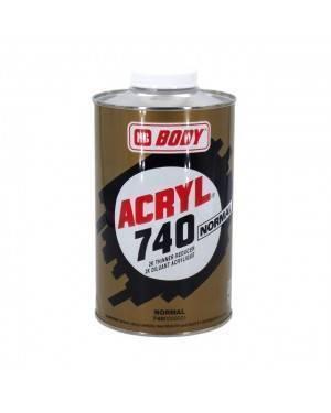 HB BODY Acrylic 740 Solvente Corporal