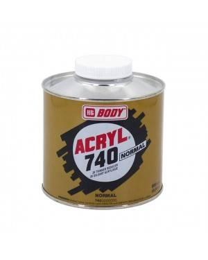 740 Corpo acrílico solvente