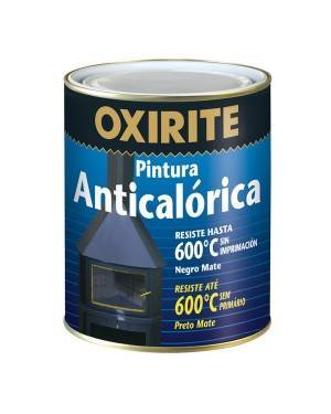 Xylazel Pintura Anticalórica Negro Mate 600ºC Oxirite