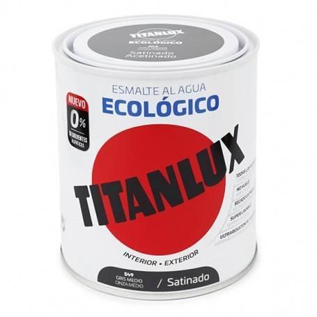 Titan Esmalte al Agua Titanlux Ecológico Satinado