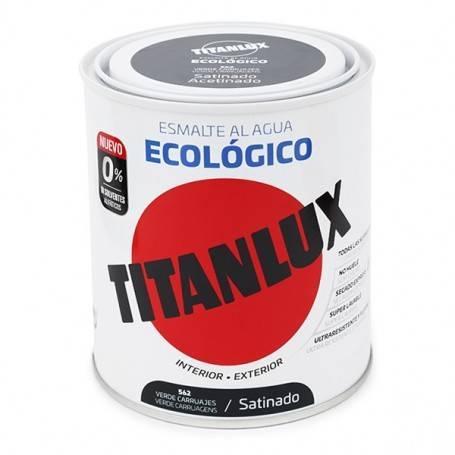 Ecológica Água Titanlux esmalte Satinado