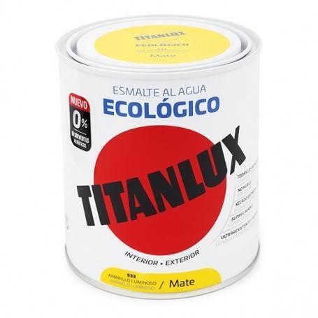 Ecológica esmalte mate Água Titanlux