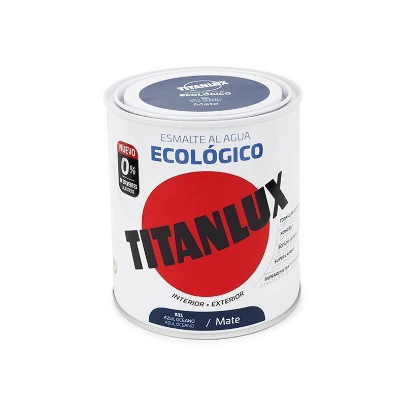 Titan Titanlux Eco-Friendly Enamel Water Matt