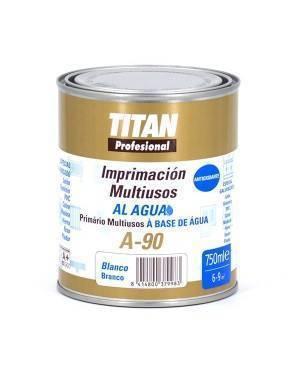 Titan Profesional Imprimación Multiusos al Agua Blanca Titan