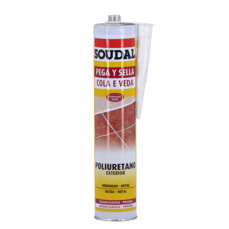 Soudal Pega y sella Blanco 300 ML Soudal