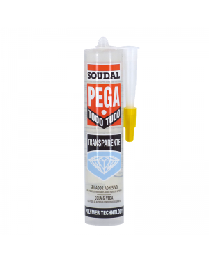 Soudal Coller tout transparent 290 ML Soudal