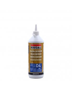 Soudal Cola poliuretano D4 Soudal