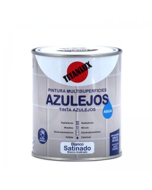 Smalto per Piastrelle a D'acqua Bianco Titan 750 ml