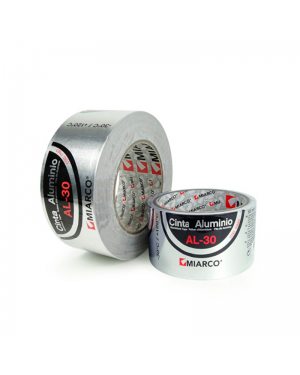 Aluminum tape AL-30 50mm x 10m Miarco