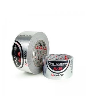Miarco Cinta aluminio AL-30 50mm x 10m Miarco