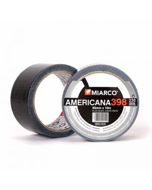 Miarco Amerikanisches Band 398 Silber 50mm x 10m Miarco