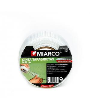 Miarco Cinta tapagrietas de malla 50mm x 20m Miarco