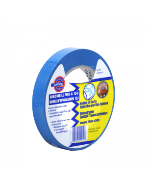 Blue UV resistant tape 19mm x 50m Eurocel