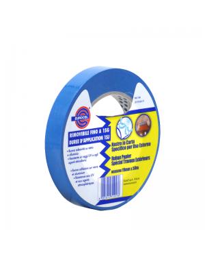 Fita azul resistente a UV 19mm x 50m Eurocel