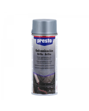 Spray Galvanizado Brillo 400 mL Presto