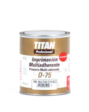 Imprimación Multiadherente D-75 750 ml Titan