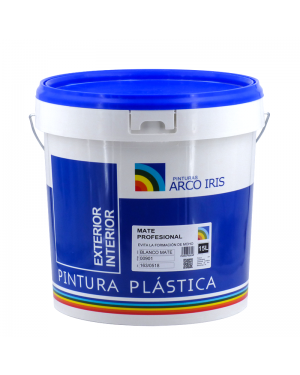 Rainbow Paintings Plastic Paint Branco Anti-mildew Matt Rainbow