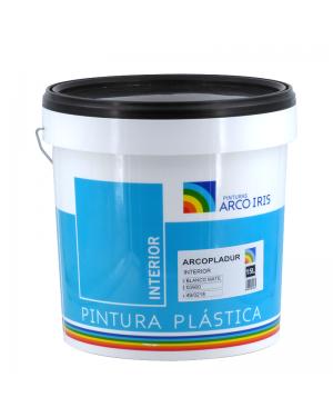 Regenbogengemälde Plastikmalerei Arcopladur Weiß Matt Rainbow
